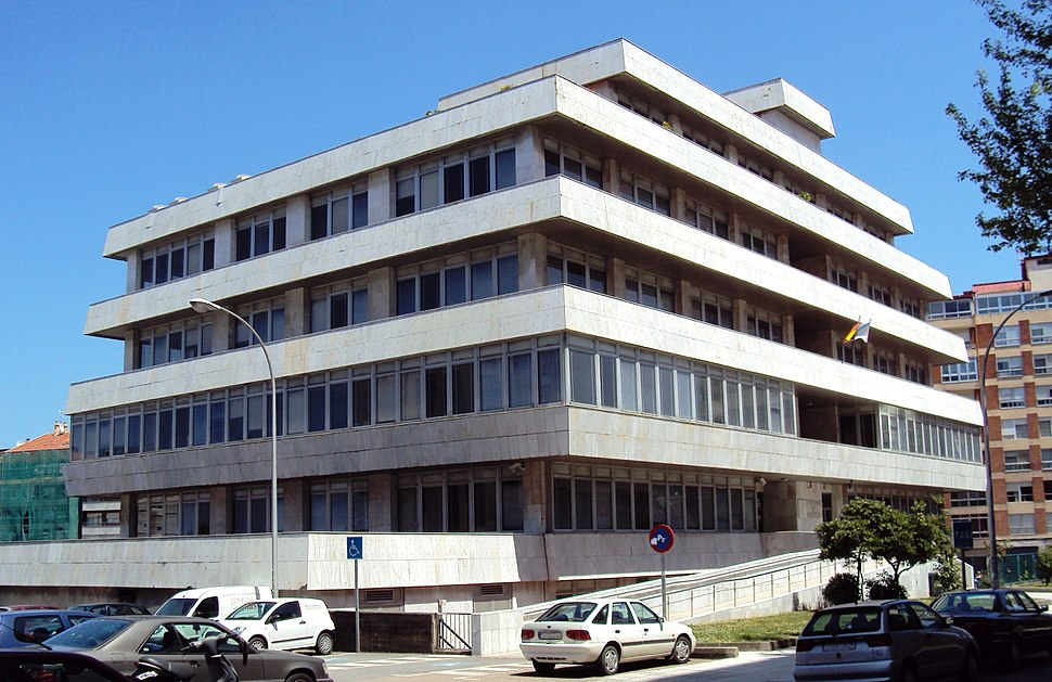 Edificio do Ministerio de Facenda, Vigo