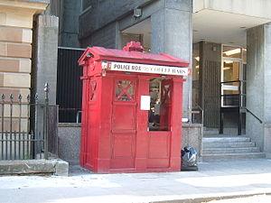 Police box - Image: Edinburgh Coffee Box