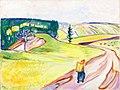 Edvard Munch - Road in Thüringen.jpg