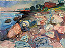 Edvard Munch - Shore with Red House - Google Art Project.jpg