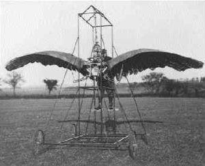Ornithopter - E.P. Frost's 1902 ornithopter