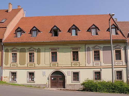The birthplace of Sandor Brody in Eger Eger - Sandor Brody Birthplace 01.jpg