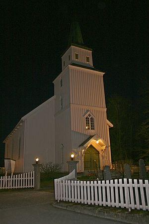 Egge Church - Image: Egge kyrkje