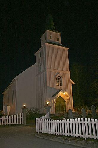 Egge Church - View of the church
