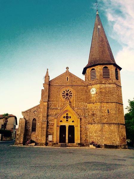 Eglise de Saint Plancard