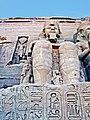 Egypt-10C-015 - Rameses II at Abu Simbel (2217475642).jpg