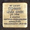 Eichmann Izsák stolperstein Budapest08.JPG