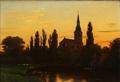 Eiler Rasmussen Eilersen - Sct. Knuds Kirke i Odense set fra H. C. Andersen Haven.png
