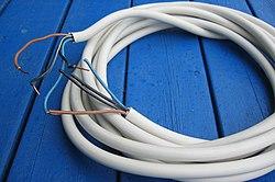 kabel i rör