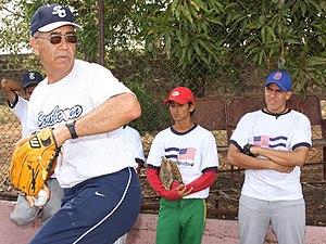 Elías Sosa - Elías Sosa in 2008, at a baseball clinic in Nicaragua.