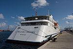 El Crucero MS Belle del Adriático en el muelle de Santa Catalina de Las Palmas de Gran Canaria Islas Canarias (6413443603).jpg