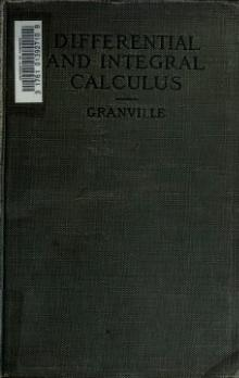 Elements of the Differential and Integral Calculus - Granville - Revised.djvu
