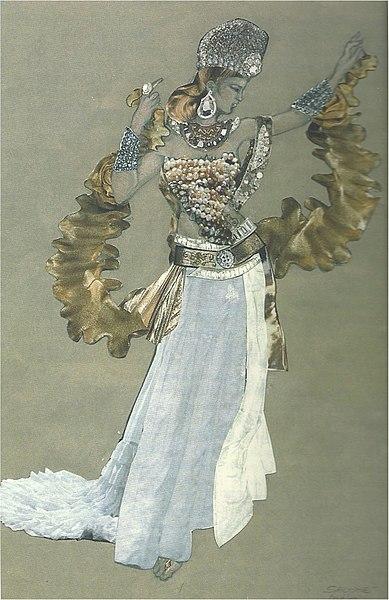 File:Elena Mannini - Costume per la Salomè di Strauss, Regia Albertazzi, Teatro dell'Opera di Roma, 2007-1.jpg