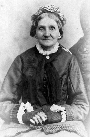 Elizabeth Ann Whitney - ca. 1870