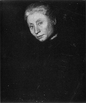 Elizabeth Coffin - Thomas Eakins, Portrait of Elizabeth Coffin