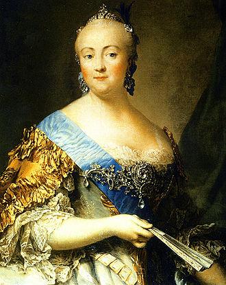 Elizabeth of Russia - Portrait painted by Vigilius Eriksen in 1757