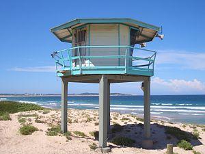 Elouera Beach - Image: Elouera Beach Tower