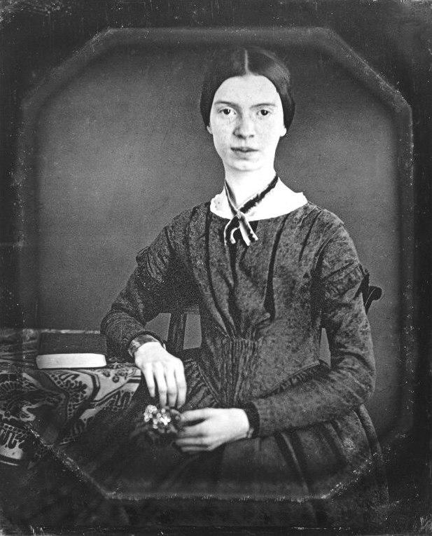 Emily Dickinson daguerreotype (Restored)