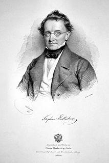 Stephan Endlicher Austrian botanist and linguist