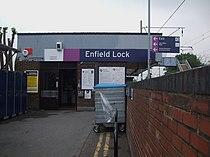 Enfield Lock stn entrance.JPG