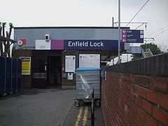 Enfield Lock stn entrance.JPG