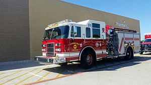 Richland Hills, Texas - Richland Hills Fire Rescue Engine 291