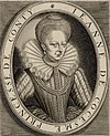 Engraved portrait of Jeanne de Coesme, Princess of Conti. (cropped).jpg