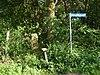 foto van Berktepaal aan de Moorveenweg; scheiding tussen Usseler- en Buursermarke