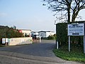 Entrance to Manor House Caravan Park - geograph.org.uk - 598942.jpg