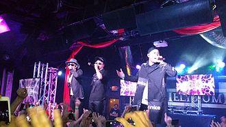 Epik High - 2015 K-Pop Night Out at SXSW DJ Tukutz, Tablo, Mithra Jin