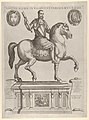 Equestrian Statue of Henry II, King of France, in the Palazzo Rucellai by Daniele de Volterra MET DP836049.jpg
