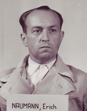 Erich Naumann - Erich Naumann at the Nuremberg Trials.