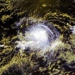 Tempête tropicale Erick le 1er août 2007