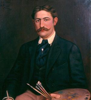 De Saisset Museum - Ernest de Saisset, self-portrait.