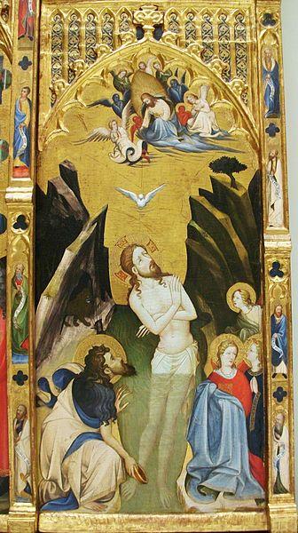 File:Escena del bateig de Crist, retaule de Bonifaci Ferrer, Museu de Belles Arts de València.JPG