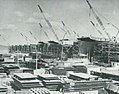 Escort carriers under construction at Kaiser Shipyards, circa in March 1944.jpg