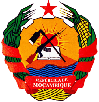 English: Mozambican coat of arms Español: Escu...
