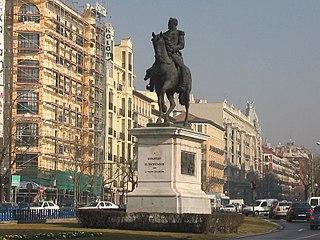 Statuo de Espartero