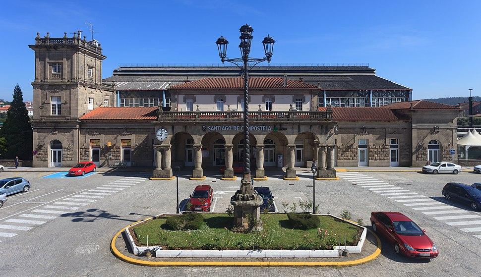 Estación de tren de Santiago de Compostela. Galiza-2