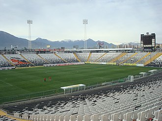 Colo-Colo - Estadio Monumental after its expansion completed in 2009.