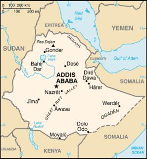 Revenue stamps of Ethiopia