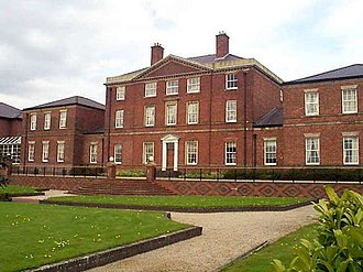 Etruria, Staffordshire - Etruria Hall, the Wedgwood family home.