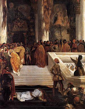 Marino Faliero, Doge of Venice - The Execution of the Doge Marino Faliero (Delacroix, 1825–26)