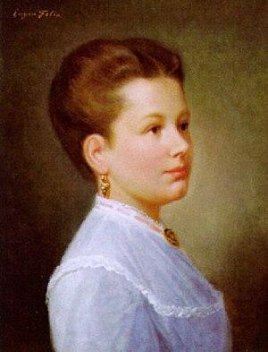 Eugen Felix - Young Lady (1860), Eugen Felix