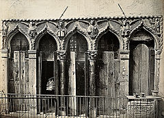 Evangelist Windows of a House at the Ponte del Forner, San Cassano, Venice.jpg