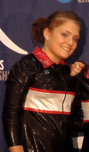 Courtney McCool - McCool at the 2008 NCAA Women's Gymnastics Championship