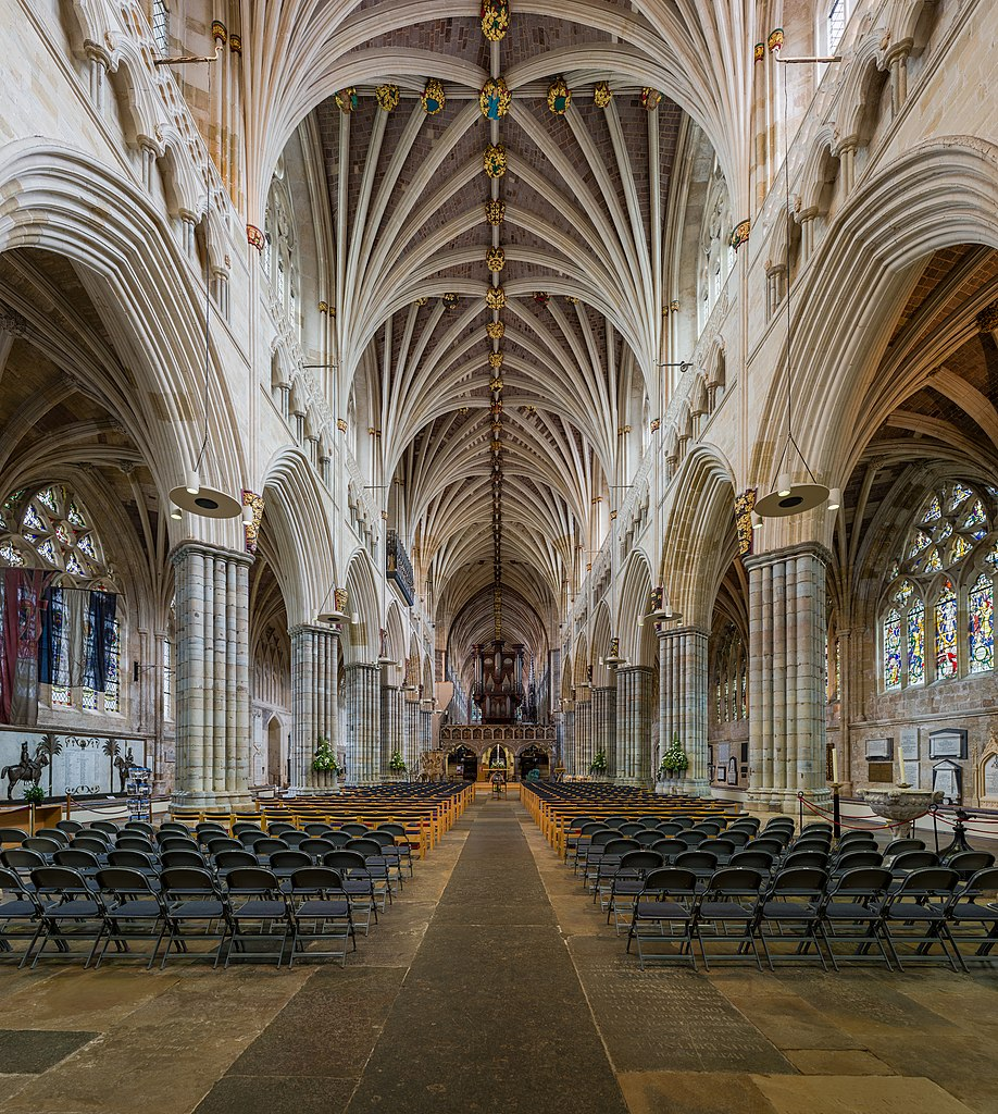 File Exeter Cathedral Nave Exeter Uk Diliff Jpg