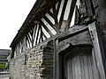 Exterior detail of the Tudor barn at Gunthwaite. - geograph.org.uk - 935642.jpg