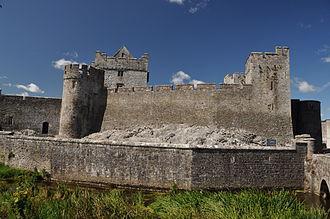 Edmond Butler, 3rd/13th Baron Dunboyne - Cahir Castle today