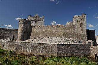 Cahir Castle - Exterior of Cahir Castle